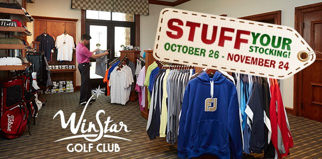 Stuff Your Stocking at WinStar: The WinStar Golf Club