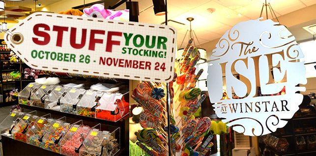 Stuff Your Stocking at WinStar: The Isle