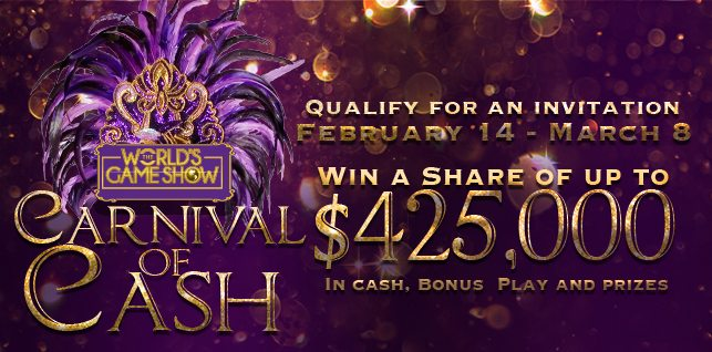 The World's Game Show – Carnival of Cash