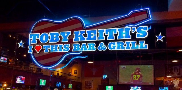 The Dish on Toby Keith's I Love This Bar and Grill