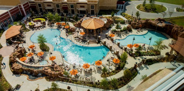 Poolside at WinStar World Casino and Resort