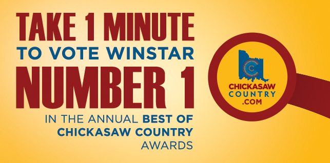 Nominate WinStar for Best of Chickasaw Country!