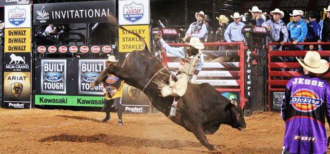 Dirt. Bulls. Cowboys.