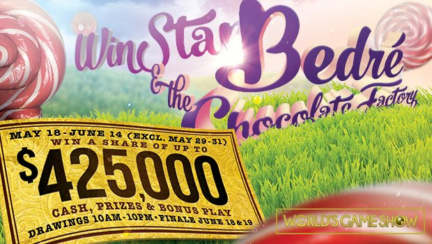 A Chocolate-Covered World's Game Show