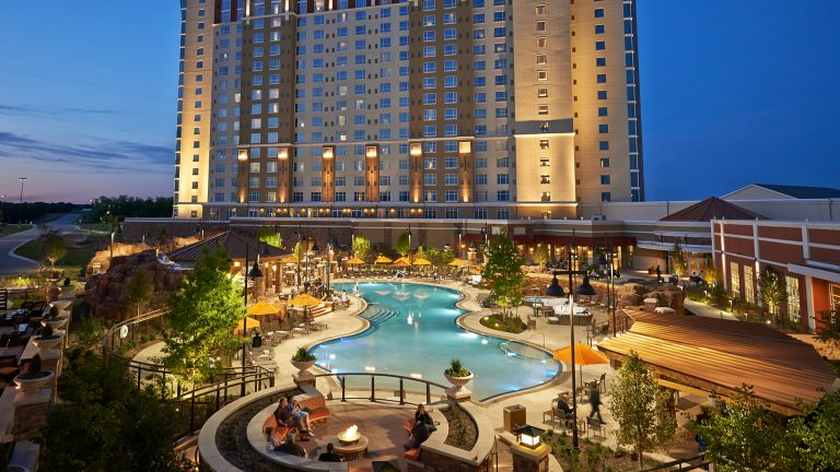 WinStar World Casino Resort Pool