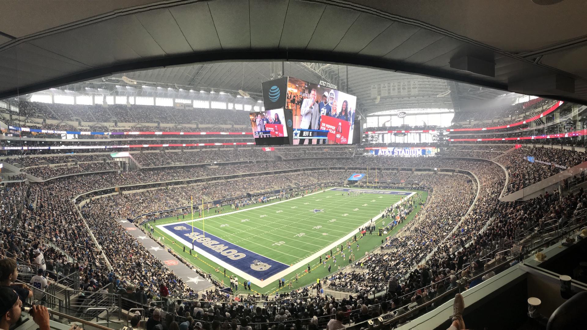 Experience a Cowboys game like a WinStar VIP!